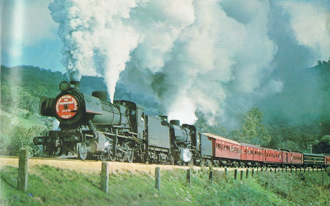 Part 1 of Yea Railway History Completed with Images Added