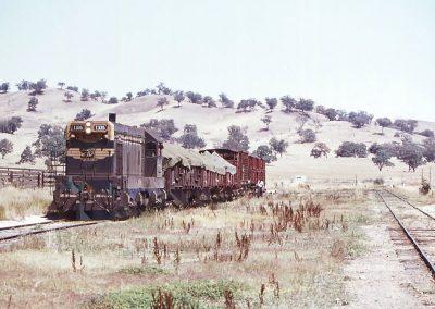 T335 shunting at Maindample