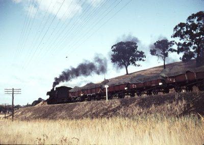 J516 nears homewood on a down Yea switch trip.