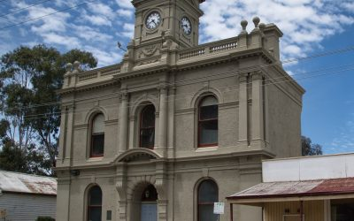 Poll Problem Fixed and Answer Regarding Front Door of Town Hall